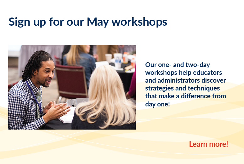 May Workshops
