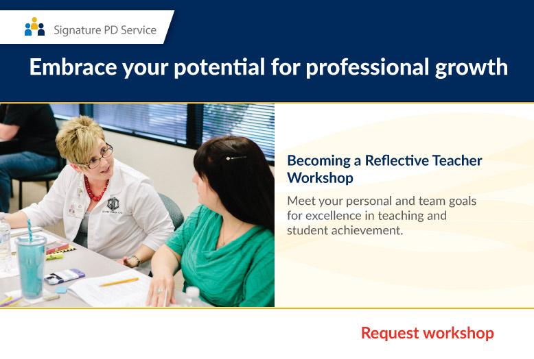Becoming a Reflective Teacher Workshop
