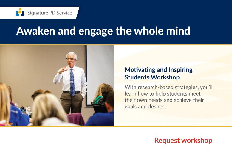 Motivating and Inspiring Workshop