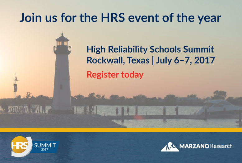 High Reliability Schools Summit
