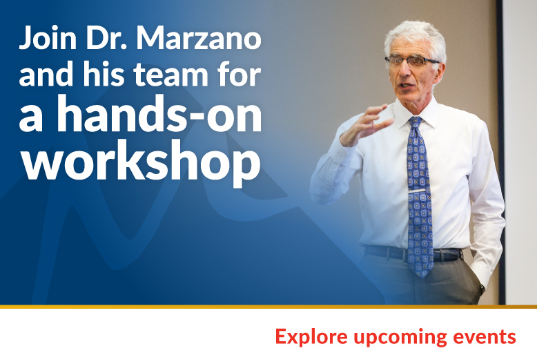 Marzano Workshop