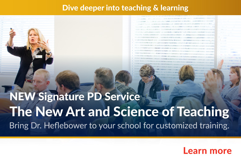 NEW Signature PD Service - The Art and Science of Teaching Workshop