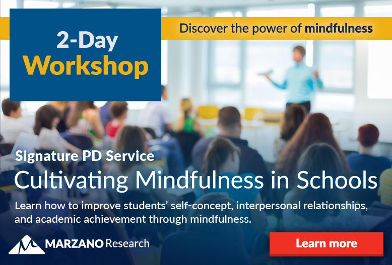 Mindfulness Signature PD Service Workshop