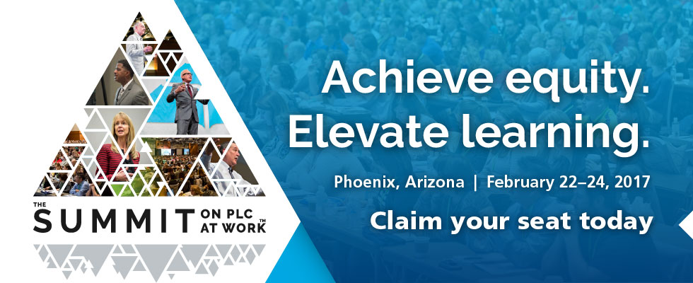 Attend the 2017 PLC at Work Summit, Feb 22, 2017