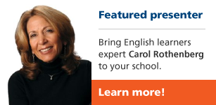 Featured presenter Carol Rothenberg