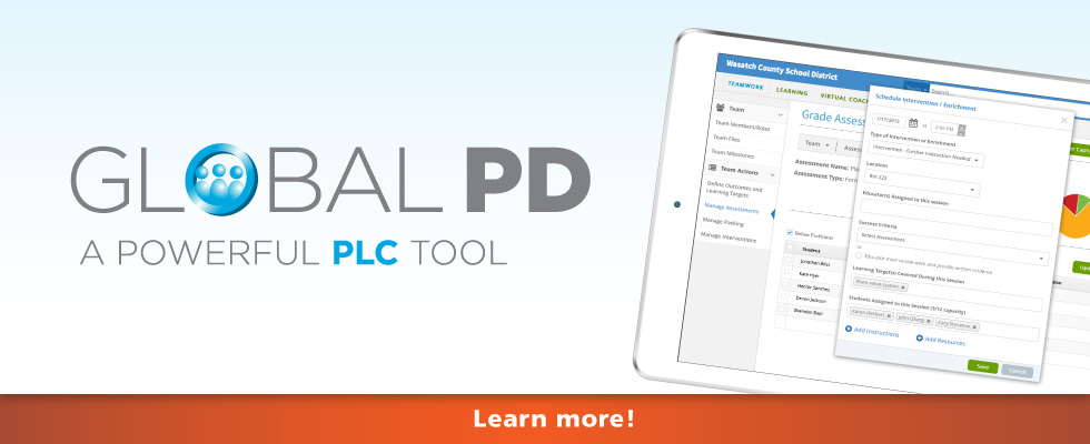 Global PD, an online PLC tool
