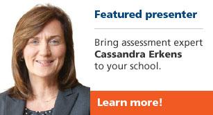 Featured presenter Cassandra Erkens