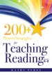 200+ Proven Strategies for Teaching Reading, Grades K–8