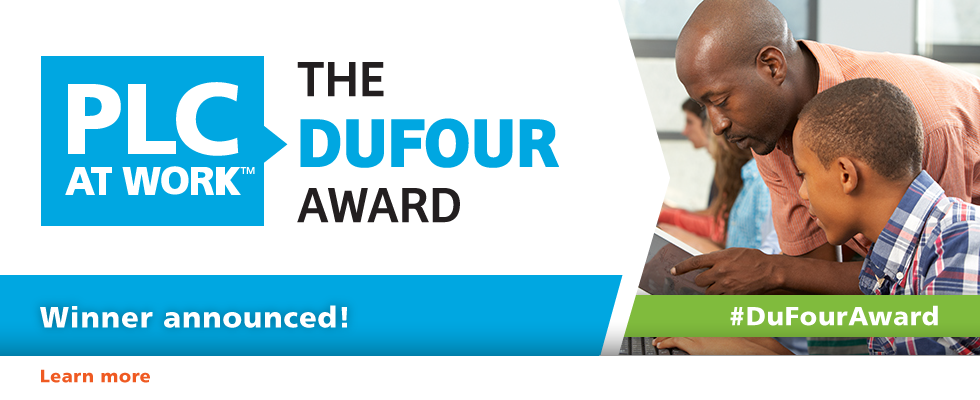 DuFour Award Winner Announced