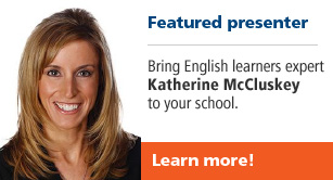 Featured presenter Katherine McCluskey