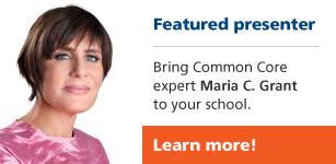 Featured presenter Maria C. Grant