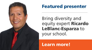 Featured presenter Ricardo LeBlanc-Esparza