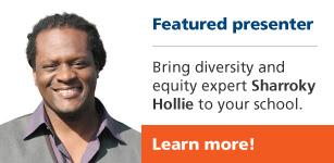 Featured presenter Sharroky Hollie