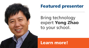 Featured presenter Yong Zhao